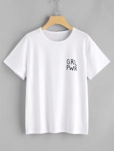 teeshirt grl pwr