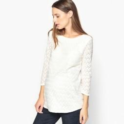 teeshirt maternité blanc